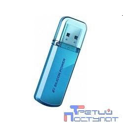 Silicon Power USB Drive 8Gb Helios 101 SP008GBUF2101V1B {USB2.0, Blue}
