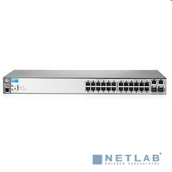 HP J9623A Коммутатор HPE 2620-24 управляемый 24*10/100 + 2*10/100/1000 + 2*mini-GBIC SFP
