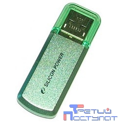 Silicon Power USB Drive 8Gb Helios 101 SP008GBUF2101V1N {USB2.0, Green}