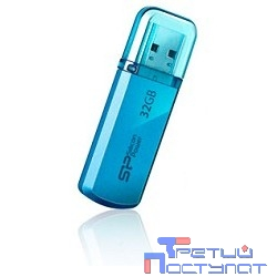 Silicon Power USB Drive 32Gb Helios 101 SP032GBUF2101V1B {USB2.0, Blue}