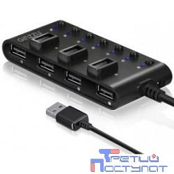 HUB GR-487UB Ginzzu USB 2.0 7 port