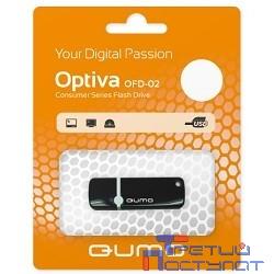 USB 2.0 QUMO 8GB Optiva 02 Black [QM8GUD-OP2-black]