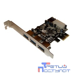 ORIENT VA-3U31PE RTL {PCI Express card USB 3.0 3 порта}
