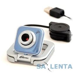 Вебкамера RITMIX RVC-025M {USB, 1,3 Мп, 1600×1200, микрофон}