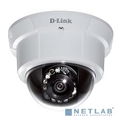 D-Link DCS-6113V/A1A/A1B PROJ Купольная антивандальная сетевая 2МП Full HD-камера с поддержкой PoE и ночной съемки