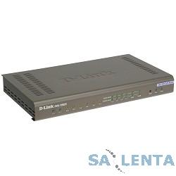 D-Link DVG-7062S/E Голосовой шлюз с 6 FXS-портами , 2 FXO-портами , 1 WAN-портом 10/100Base-TX, 4 LAN-портами 10/100Base-TX
