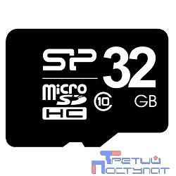 Micro SecureDigital 32Gb Silicon Power SP032GBSTH010V10 {MicroSDHC Class 10}