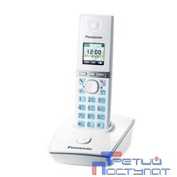 Panasonic KX-TG8051RUW (белый) {цветной дисплей,двойной набор (база\трубка),цифровой автоответчик}