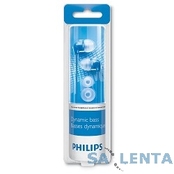 PHILIPS SHE3590BL/10, голубые {Наушники вкладыши канальные}