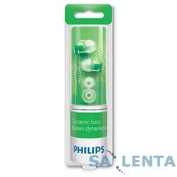 PHILIPS SHE3590GN/10, зеленые {Наушники вкладыши канальные}