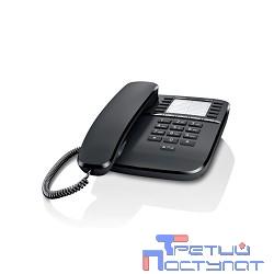 Gigaset DA510 (IM) Black. Телефон проводной (черный)