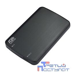 "AgeStar 3UB2A12(-6G)  USB 3.0 Внешний корпус 2.5"" SATA AgeStar 3UB2A12 USB3.0, алюминий, черный, безвинтовая конструкция (729830/07330)"