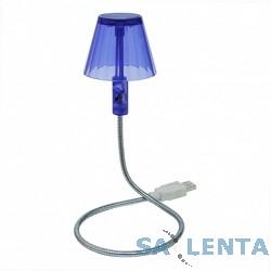 CBR CL-600S Светодиодная лампа  фиол., 6 диодов, USB, сувенир.