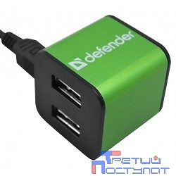 DEFENDER USB QUADRO IRON USB 2.0, 4 порта, метал. корпус [83506]