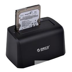 """ORICO 8619US3-BK Док-станция для HDD ORICO 8619US3; 1-bay 3.5"""" /<wbr>2.5"""" HDD 4TB Max (черный)"""