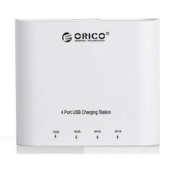 ORICO DCH-4U-WH Зарядное устройство ORICO DCH-4U (белый)