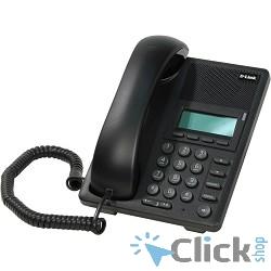 D-Link DPH-120SE/F1A IP-телефон с 1 WAN-портом 10/100Base-TX с поддержкой PoE и 1 LAN-портом 10/100Base-TX