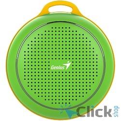 GENIUS SP-906BT Green {Bluetooth 4.1 Total : 3W Built-in Lithium battery (500mAh)}
