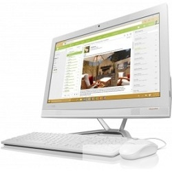 """Lenovo IdeaCentre 300-23ISU [F0BY00FYRK] White 23"""" FHD IPS i5-6200U/<wbr>4Gb/<wbr>1Tb/<wbr>DVDRW/<wbr>DOS/<wbr>k+m"""
