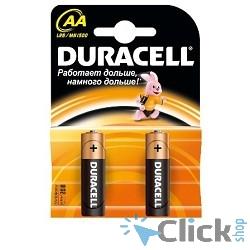 DURACELL LR6-2BL BASIC AA (MN1500) (2 шт. в уп-ке)