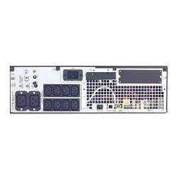 APC Smart-UPS RT 3000VA RM SURTD3000RMXLI Black (On-Line, комплект SURTD3000XLI + SURTRK2)