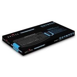 Oklick 230M Black 2.4ГГц  Nano Receiver USB Беспроводной комплект клавиатура + мышь