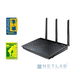 ASUS RT-AC66U (802.11ac Dual-Band Wireless-AC1750 Gigabit Router)
