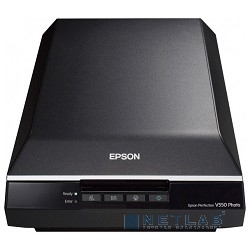 EPSON Perfection V550 Photo B11B210303 {А4, 6400 x 9600, 15 стр./мин, USB 2.0}