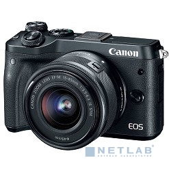 Canon EOS M6 kit ( 18-150 IS STM f/ 3.5-6.3), черный [1724c022]