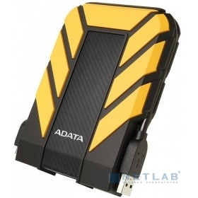"A-Data Portable HDD 1Tb HD710 AHD710P-1TU31-CYL {USB3.1, 2.5"", Black-Yellow}"