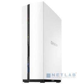 QNAP D1 Сетевое хранилище 1-tray w/o HDD. Dual-core ARM 1.1 GHz, 1 GB RAM. 1 x Gigabit LAN, 1 X USB 3.0 (Front), 1 X USB 2.0 (Rear)