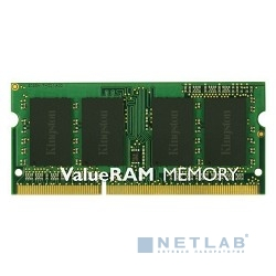 Kingston DDR3 SODIMM 4GB KVR13S9S8/4 PC3-10600, 1333MHz