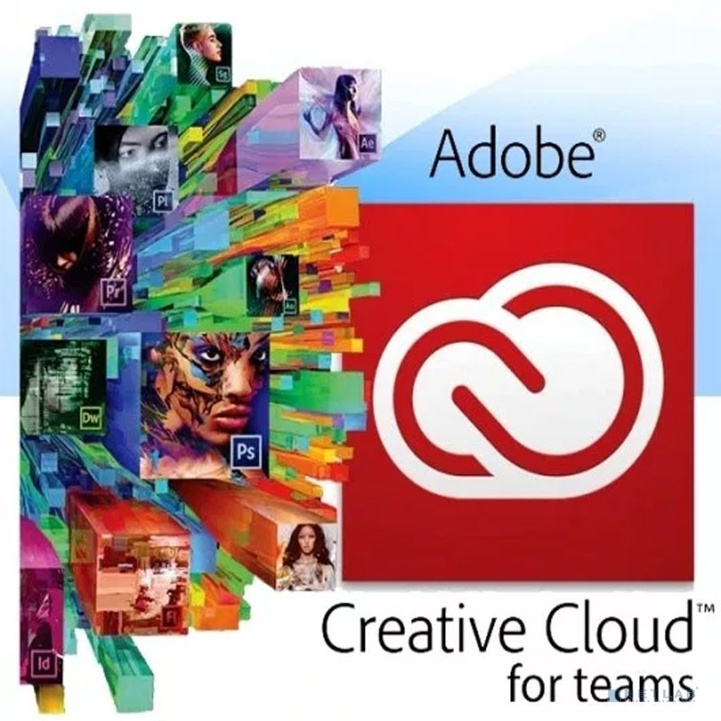 65297752BA02A12 Creative Cloud for teams All Apps ALL Multiple Platforms Multi European Languages Team Licensing Subscription New