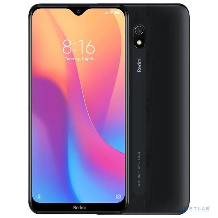 Xiaomi Redmi 8A 2GB+32GB Midnight  Black
