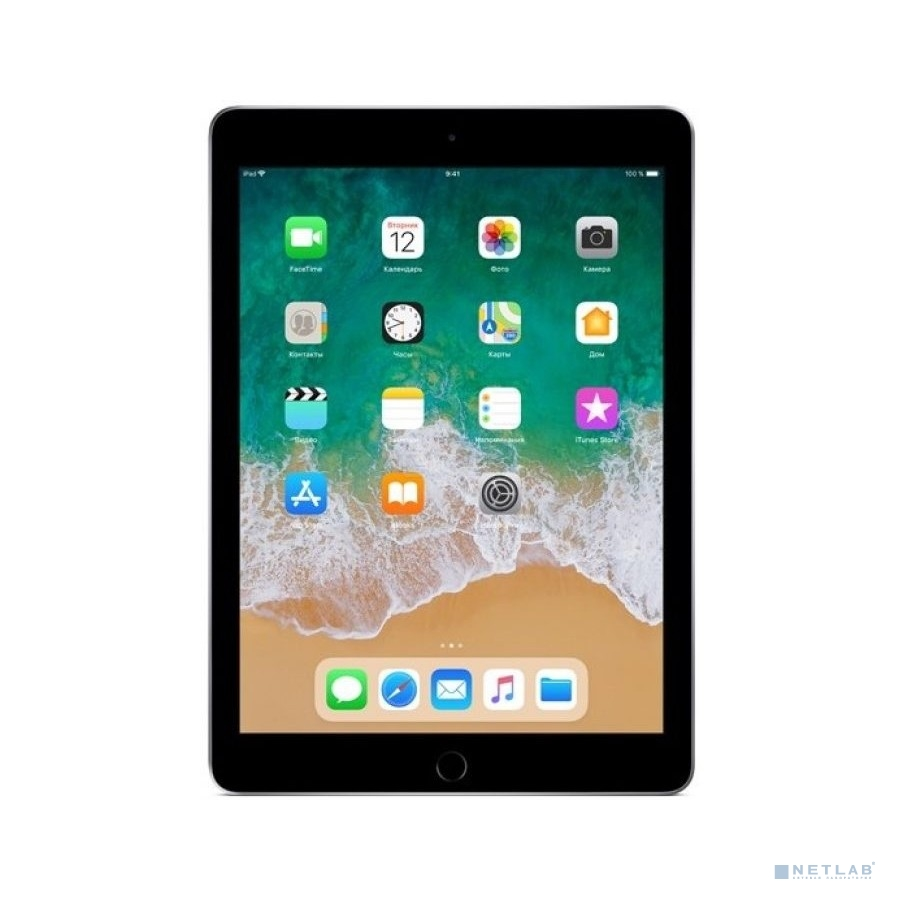 Apple iPad Wi-Fi 128GB - Space Grey [MR7J2RU/A] (2018)