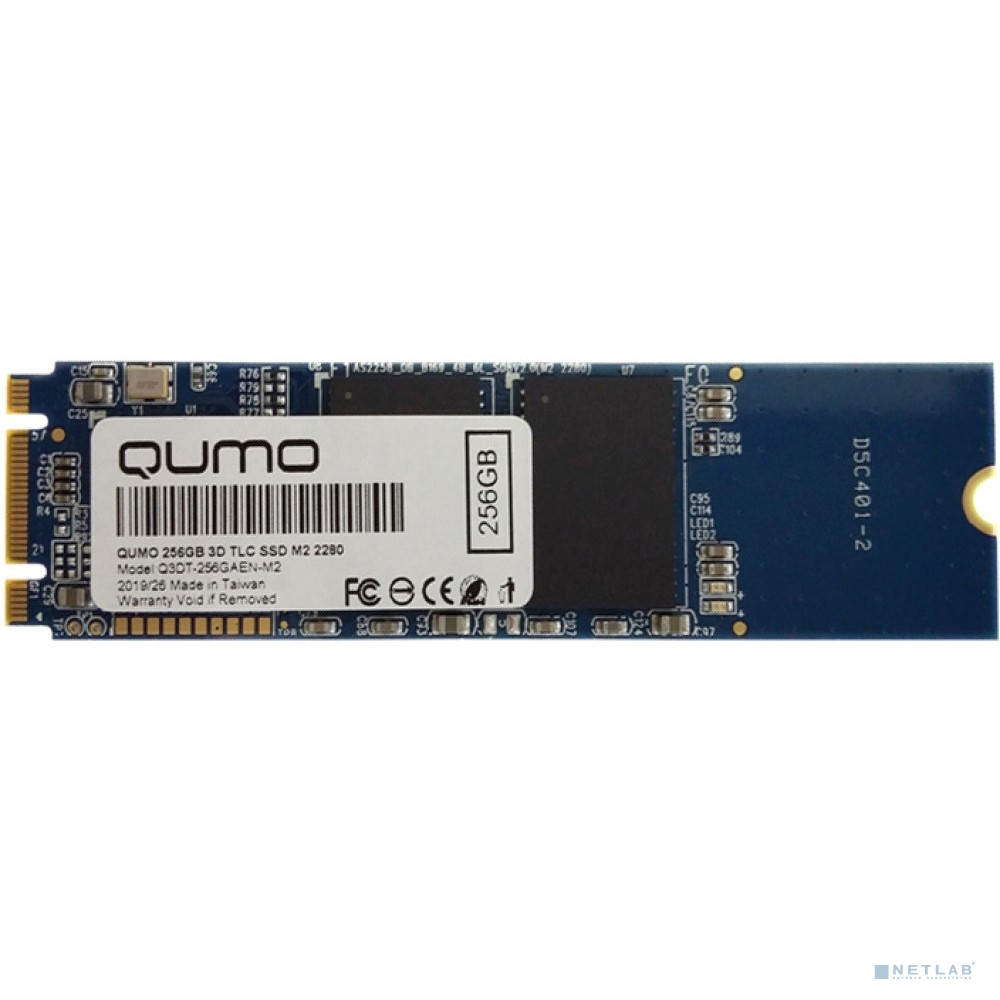 QUMO M.2 SSD 256GB QM Novation Q3DT-256GAEN-M2