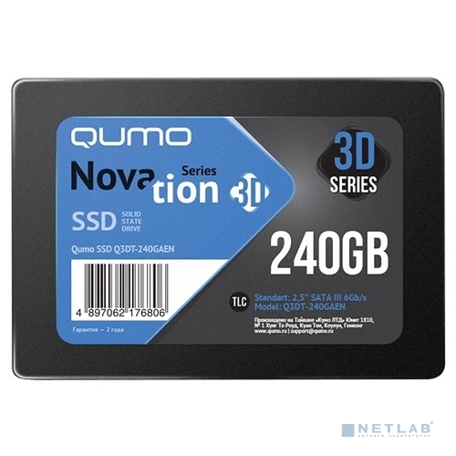 QUMO SSD 240GB QM Novation Q3DT-240GAEN OEM {SATA3.0}