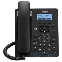Panasonic KX-HDV130RUB – проводной SIP-телефон черный