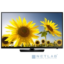 "Samsung 24"" UE24H4070AU черный {HD READY, USB, DVB-T2, 100CMR(RUS)}"
