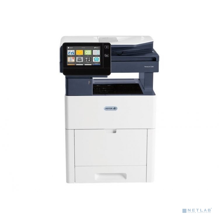Xerox VersaLink® C505/S {A4, LED, 1200х 2400dpi, 43/43ppm, max 120K pages per month, 4Gb memory, 1.05 GHz Dual-core, DADF, PS3, PCL5c/6, Gigabit Eth}