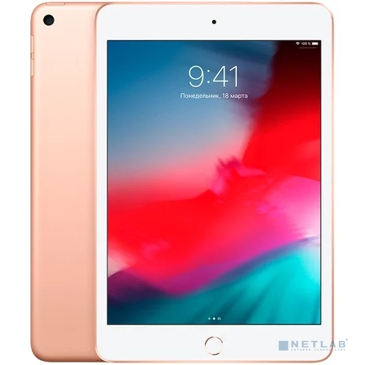 Apple iPad mini Wi-Fi + Cellular 64GB - Gold (MUX72RU/A) New (2019)