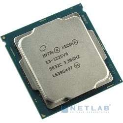 CPU Intel Xeon E3-1225v6 Kaby Lake BOX {3.3ГГц, 8Мб, Socket1151}
