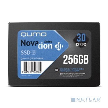 QUMO SSD 256GB QM Novation Q3DT-256GPPN {SATA3.0}