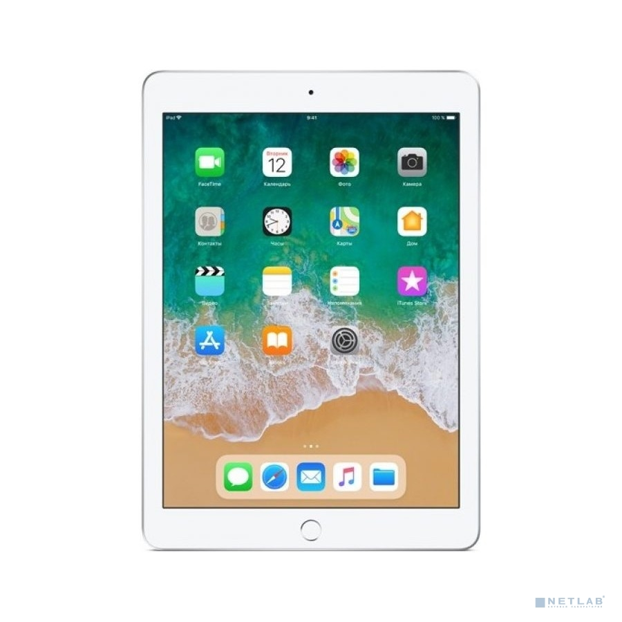 Apple iPad Wi-Fi 128GB - Silver [MR7K2RU/A] (2018)