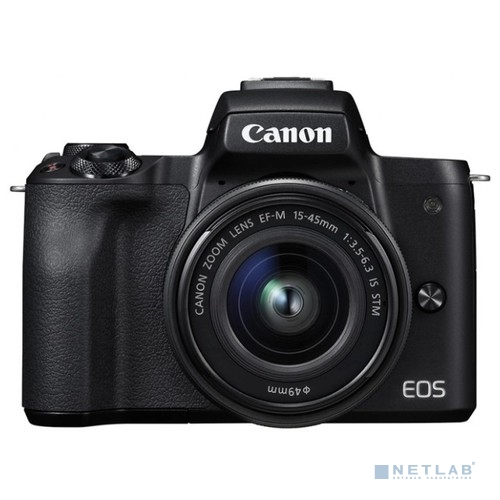 "Canon EOS M50 черный {24.2Mpix 3"" 4K WiFi 15-45 IS STM LP-E12}"