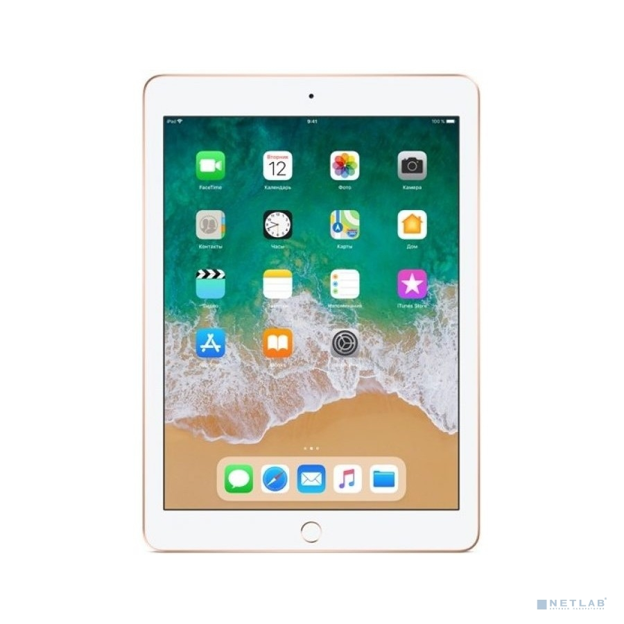 Apple iPad Wi-Fi 32GB - Gold [MRJN2RU/A] (2018)