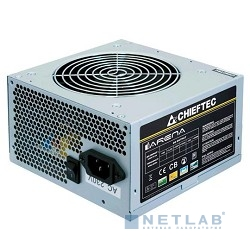 Chieftec 400W OEM [GPA-400S8] {ATX-12V V.2.3 PSU with 12 cm fan, Active PFC, ficiency >80% 230V only}