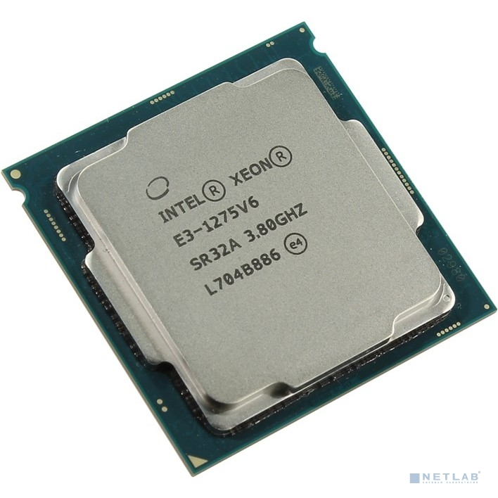 CPU Intel Xeon E3-1275v6 Kaby Lake OEM {3.8ГГц, 8Мб, Socket1151}