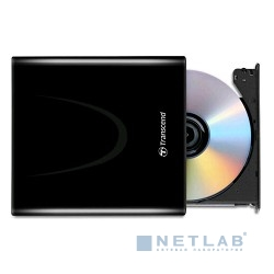 Transcend Slim DVD±RW TS8XDVDS-K, Black (RTL) Ultra Slim ext. (726853)