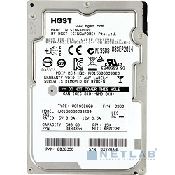 600Gb Hitachi Ultrastar C15K600 (HUC156060CSS204) {SAS, 15000 rpm, 128mb, 2.5''} (0B30356)